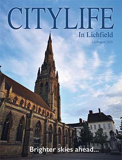 The July and August edition of Citylife in Lichfield