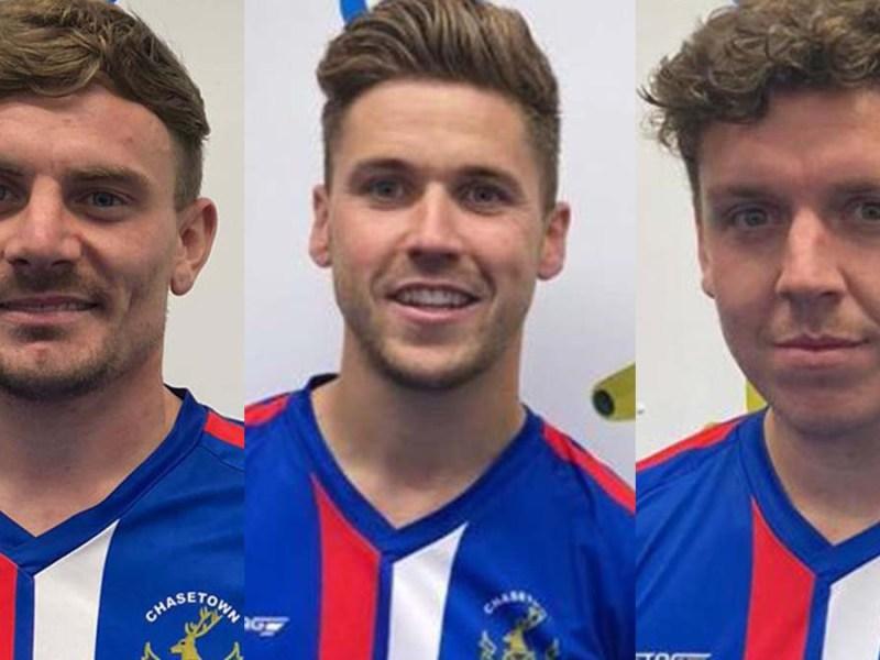Jordan Evans, Danny O'Callaghan and Joey Butlin