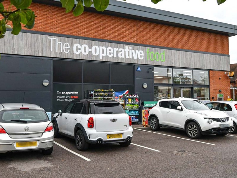The Central England Co-op store on Curborough Road