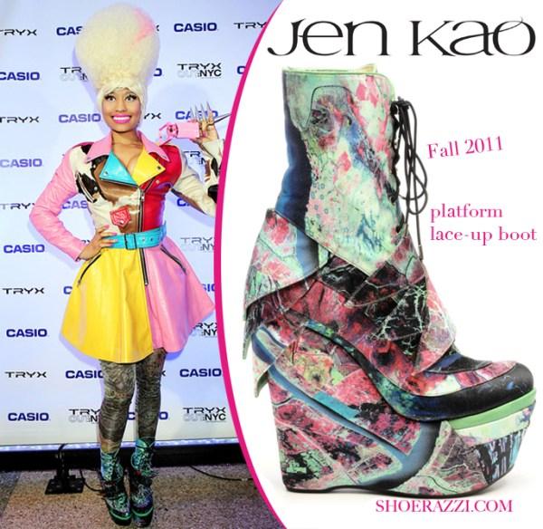 Звездная обувь Ники Минаж :: фотообзор :: Ники Минаж ...