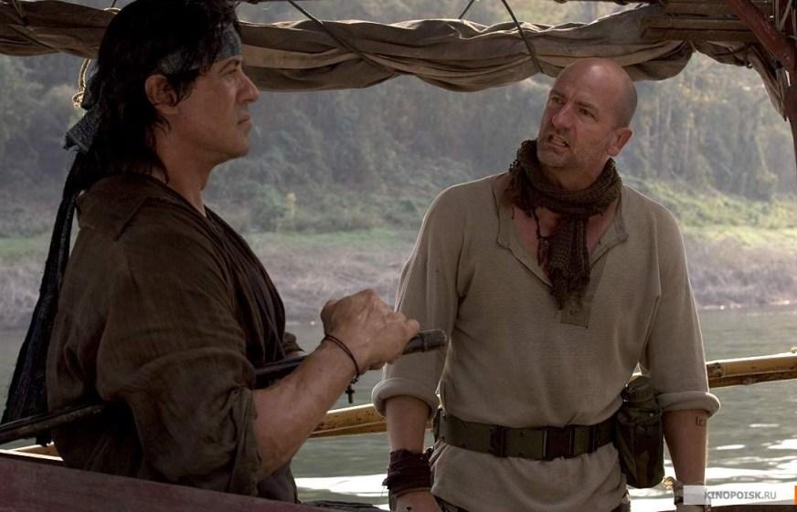 Сильвестр Сталлоне в роли Джона Рэмбо :: фотообзор ...