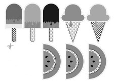 08.Картинки для лд черно белые для распечатки