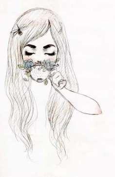 05.Красивые картинки для срисовки для девочек