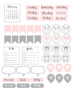 14.Распечатки для личного дневника красивые