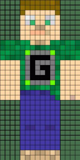 03.Рисовать по клеточкам майнкрафт