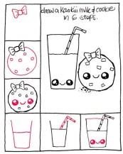 19.кавайные рисунки для срисовки
