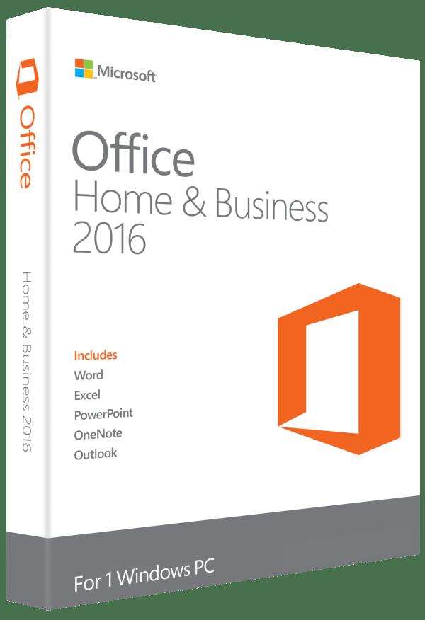 Microsoft Office Domicile et Professionnel 2016