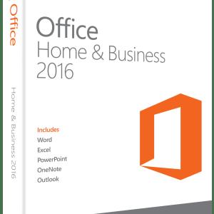 Microsoft Office Hejmo kaj Komerco 2016