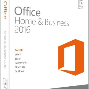Microsoft Office für MAC Home and Business 2016