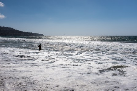 Redondo Beach. Baden gehen, segeln....