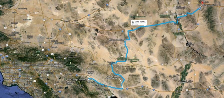 Die Route Tag 11