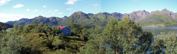 Fjäll-Panorama