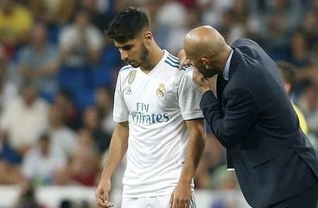 Tương lai của Asensio từ phán quyết của HLV Zidane