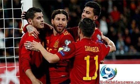 Phong độ thi đấu ĐT Tây Ban Nha thực sự gây thất vọng khi EURO 2020 đang tới gần