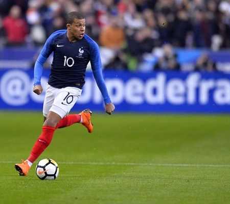 Cơ hội cho nào cho Kylian Mbappe ở Euro 2020