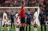 World Cup 1998: Backham bị gài bẫy ăn thẻ đỏ