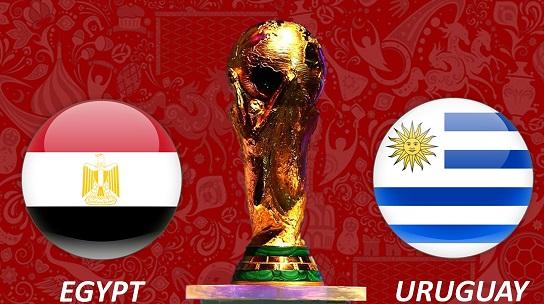 Soi kèo - dự đoán Ai Cập vs Uruguay World Cup 2018 tại Nga 19h ngày 1506