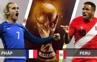 Nhận định Pháp vs Peru, 22h00 ngày 21/06: Bảng C World Cup 2018