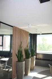 Accentverlichting in kantoor ruimte