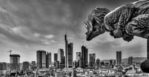 Peter Jung - Skyline im Blick sw