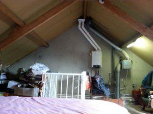 Van rommelzolder naar slaapkamer