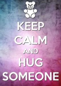 knuffelen is gezond