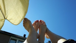 Rust in de zonneschijn