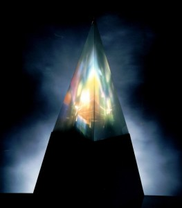 Light Painting Pyramide