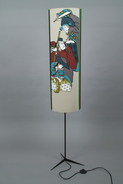 Stehlampe:floor lampe samurai lichtscheuberlin 2