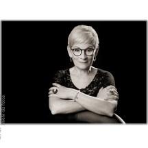 """Die Malerin Birgit Baumhammel """"in zivil""""."""