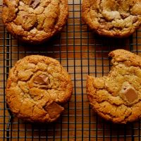 Hazelnut Butter and Milk Chocolate Cookies