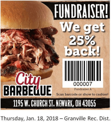 Fundraiser for Wildwood Playground @ City Barbeque | Newark | Ohio | United States