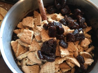 Ready to stir in biscuits and figs