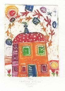 Zašita hišica, 9 x 6,5 cm, 2005, cena 25 eur