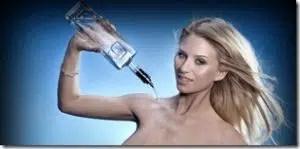 """G-Spirits: whisky, ron y vodka """"enriquecidos"""" al pasar por los pechos de top models 1"""