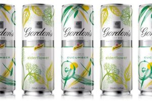 Gordons 6 Tonic Cucumber y Elderflower