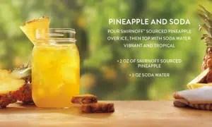 Vodka Smirnoff Sourced Piña