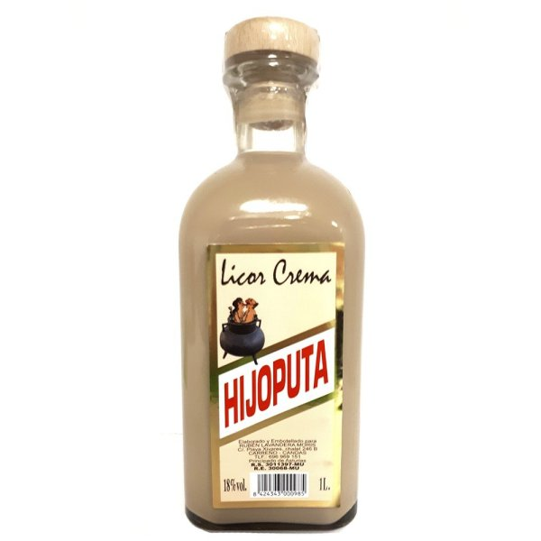 Licor de Crema Hijoputa