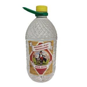anis seco 3 litros - paraiso de las tentaciones