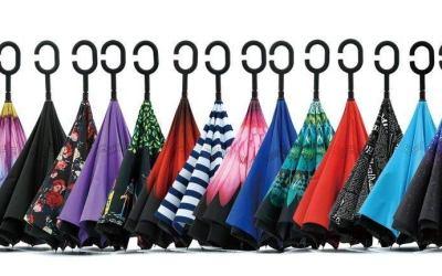 ¿A la búsqueda de regalos originales?, el paraguas que se abre y cierra al revés. Los 6 paraguas invertidos más vendidos.