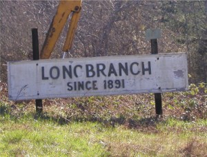 "Longbranch sign ""Since 1891"""