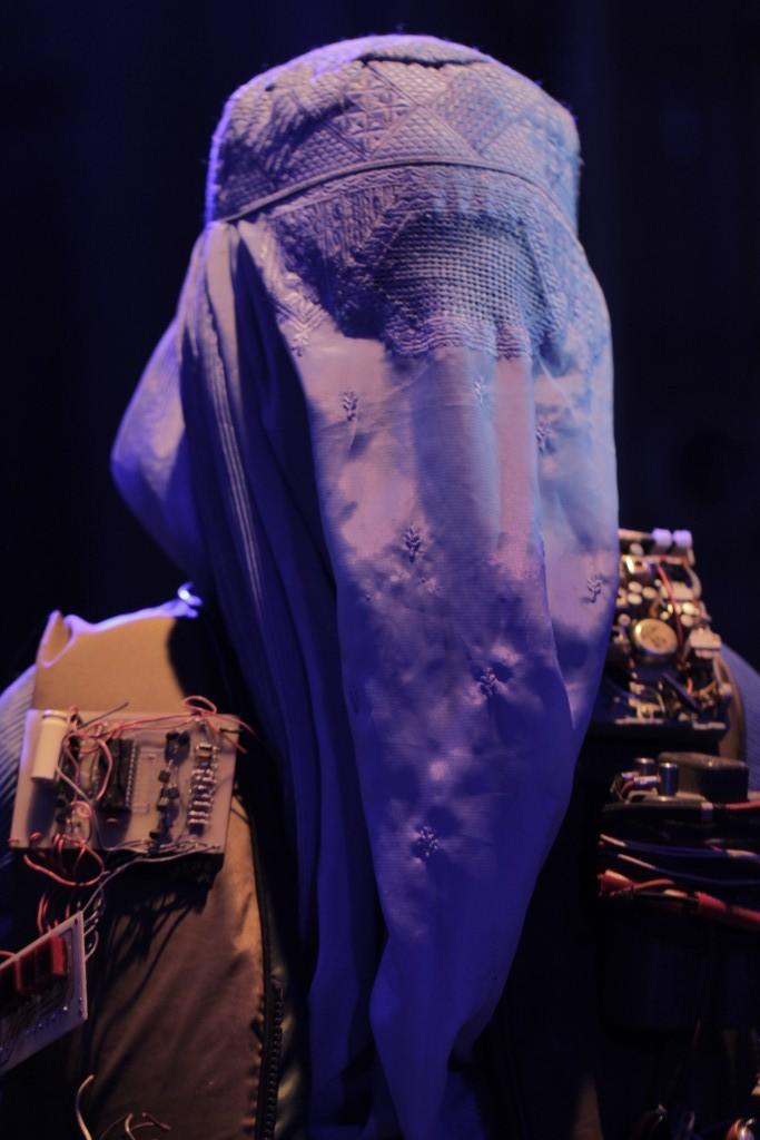 Safa Samiezade-Yazd (The Chorus). Photo by Ryan Gaddis (2011)