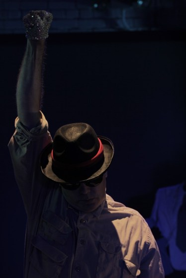 Dan O'Neill (Michael Jackson). Photo by Ryan Gaddis (2011)