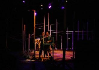 Kelleen Shadow (Daga) & Lorenzo Sariñana (Boy). Photo Erin Preston (2010).