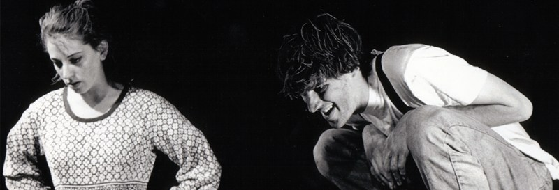 Mud by María Irene Fornés (1995). Renée Goldberg & Brian Freeland. Photo by Brian E. Lewis.