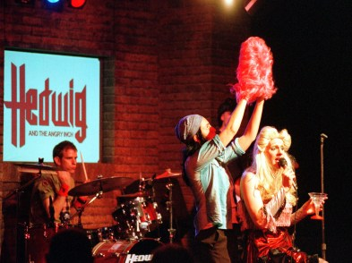 Hedwig and The Angry Inch (2002). Photo James Bevins.