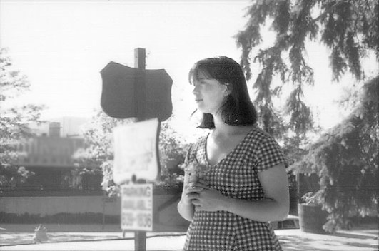 Jennifer VanHorn in Tainted Pavement (1995).