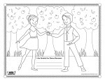 Thanksgiving Coloring Contest!  Win a $35 Dancewear Gift Card