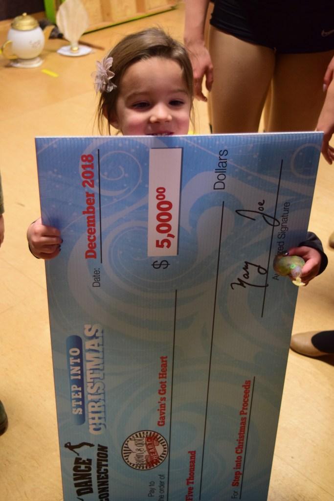 Dance Connection Raises $5,000 for Gavin's Got Heart