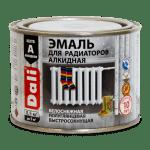 Эмаль алкид.для радиаторов 0,5кг DALI